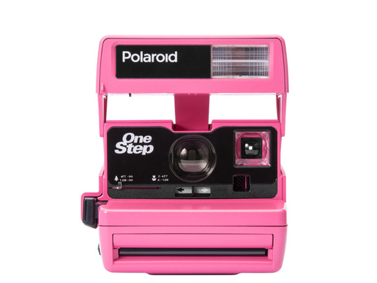 IMPOSSIBLE POLAROID 600 PINK LIMITED EDITION