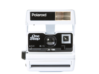 IMPOSSIBLE POLAROID 600 White LIMITED EDITION - SLUTSÅLD