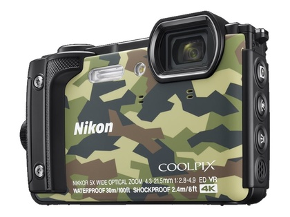 Nikon COOLPIX W300 Kamouflage Holiday kit