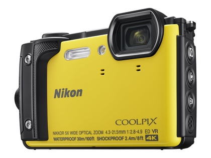 Nikon COOLPIX W300 Gul Holiday kit
