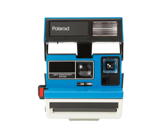 IMPOSSIBLE POLAROID 600 TENNIS Blue LIMITED EDITION