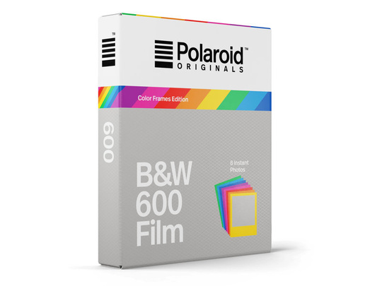 POLAROID ORIGINALS B&W FILM 600 COLOR FRAME