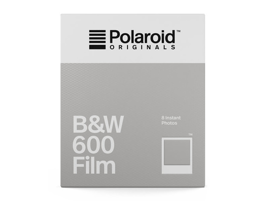 POLAROID ORIGINALS B&W FILM FOR 600