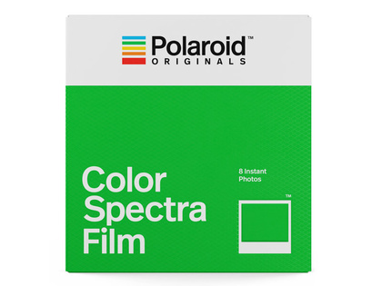 SLUTSÅLD! POLAROID ORIGINALS COLOR FILM FOR SPECTRA