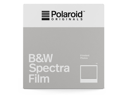 POLAROID ORIGINALS B&W FILM FOR SPECTRA
