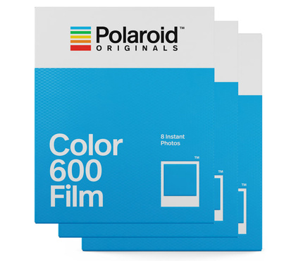 POLAROID ORIGINALS COLOR FILM FOR 600 3-PACK
