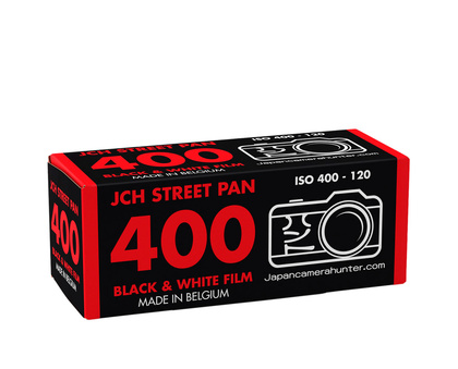 Product information JCH Street Pan 400 roll film 120