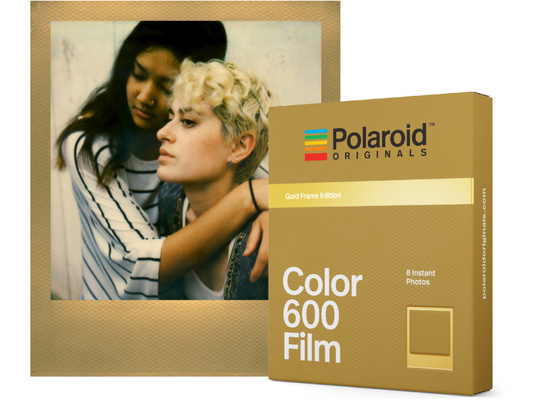 POLAROID ORIGINALS COLOUR FILM 600 GOLD FRAME