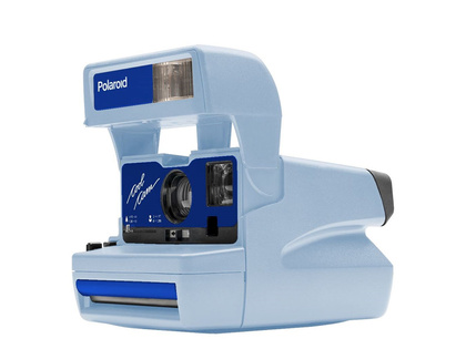 IMPOSSIBLE POLAROID 600 COOL CAM BLUE LIMITED EDITION