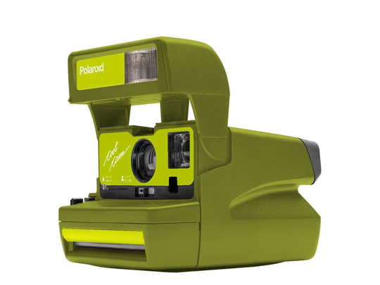 IMPOSSIBLE POLAROID 600 COOL CAM GREEN LIMITED EDITION