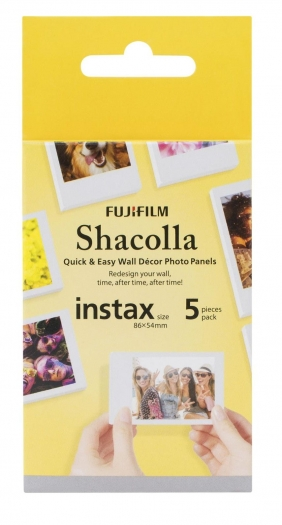 1x5 Fujifilm SHACOLLA BOX 5,4x8,6 Instax Mini