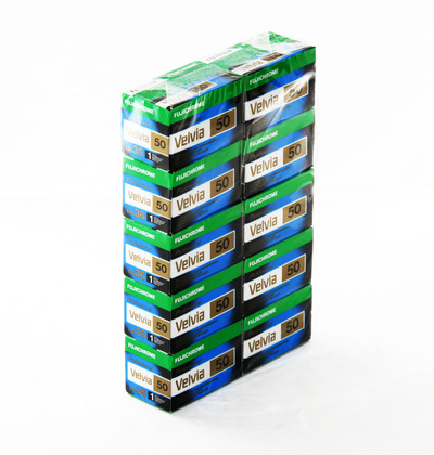 Fujifilm Velvia 50 135/36 New - 10pack