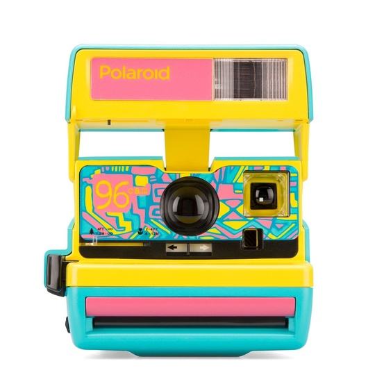 Polaroid 600 Camera - 96 Cam - Fresh Blue