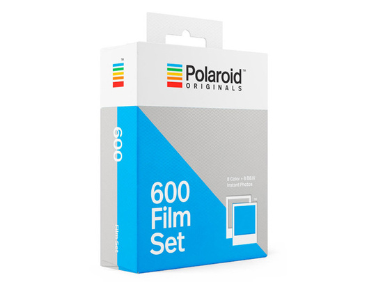 POLAROID ORIGINALS COLOR/B&W FILM FOR 600 2-PACK