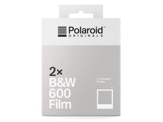 POLAROID ORIGINALS B&W FILM FOR 600 2-PACK