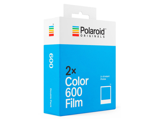 POLAROID ORIGINAL COLOUR FILM FOR 600 2-PACK