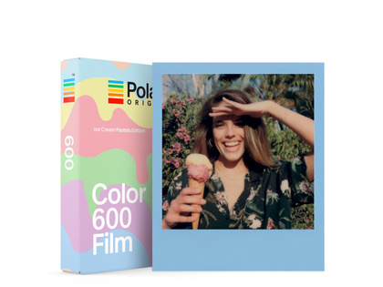 POLAROID ORIGINALS COLOUR FILM 600 ICE CREAM LIMITED EDITION