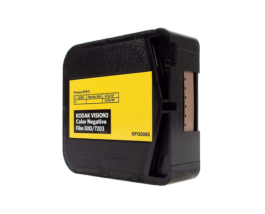 KODAK VISION3 50D Color Negative Film | 50 ft Super 8 Cartridge