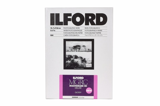 ILFORD MULTIGRADE RC DELUXE GLOSSY 24x30.5cm 50