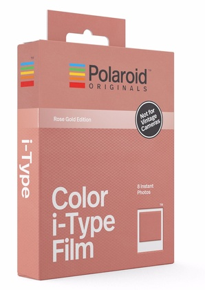 POLAROID ORIGINALS Color i-Type Film Rose Gold Frame Edition