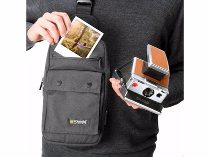 POLAROID ORIGINALS FOLDING CAMERA BAG BLACK