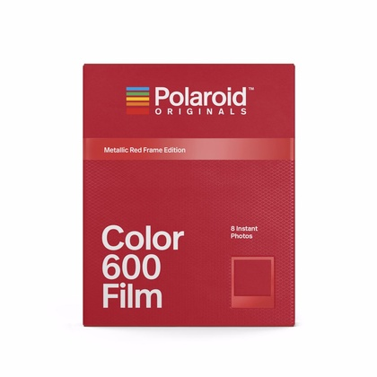 POLAROID ORIGINALS COLOUR FILM 600 METALLIC RED
