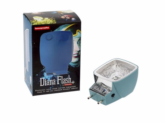 Diana F+ Flash METALLIC BLUE