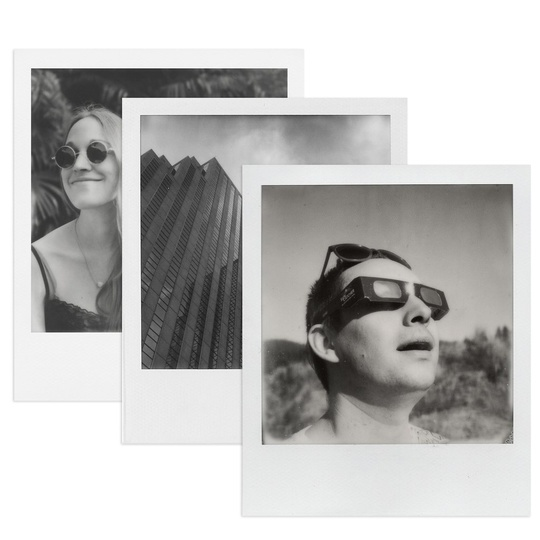 POLAROID ORIGINALS B&W Film for SX-70 3-PACK