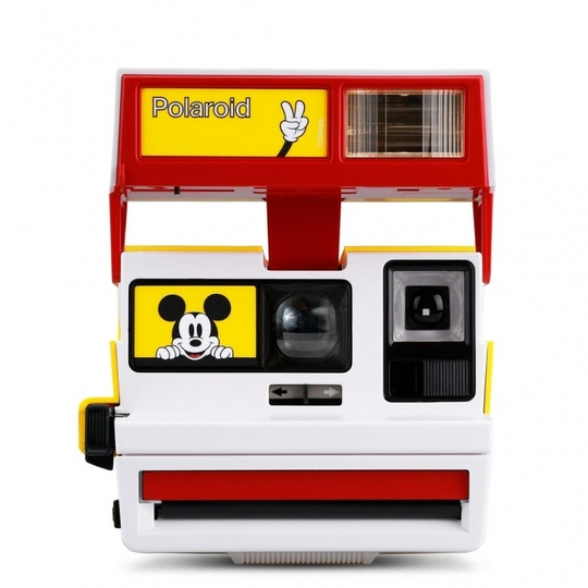 Polaroid 600 Camera Disney Mickey Mouse Edition