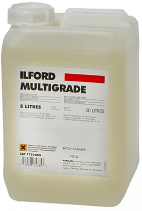 Pappersframkallare ILFORD MULTIGRADE  5L