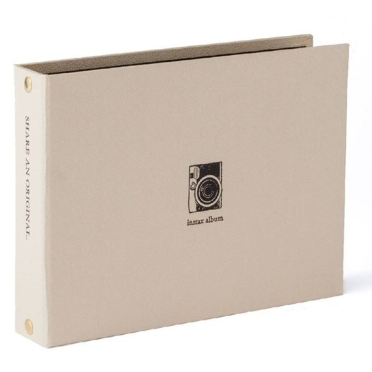 INSTAX TWO RING ALBUM GOLD