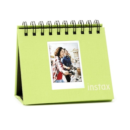 INSTAX MINI TWIN FLIP ALBUM LIME GREEN