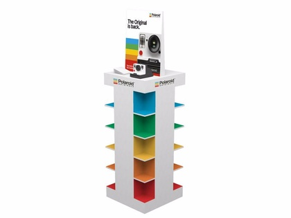 Polaroid Originals Pos. Polaroid Originals Display Instore 40X45X153