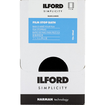 Ilford Photo ILFORD SIMPLICITY FILM DEALER STOP X 12 SACHETS