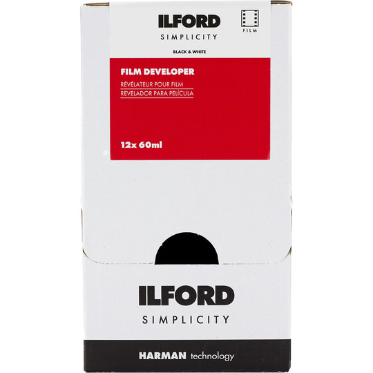 Ilford Photo ILFORD SIMPLICITY FILM DEALER DEV X 12 SACHETS