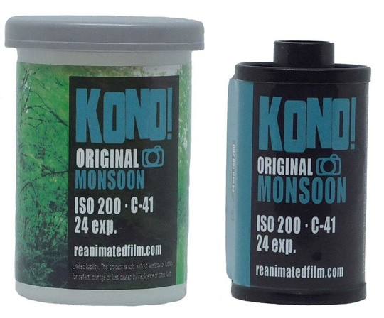 KONO! ORIGINAL MONSOON - 35mm COLOR NEGATIVE FILM (1-pack)