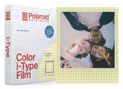 POLAROID ORIGINALS COLOR FILM I-TYPE NOTE THIS ED.