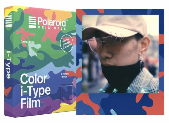 POLAROID ORIGINALS COLOR FILM I-TYPE CAMO ED.