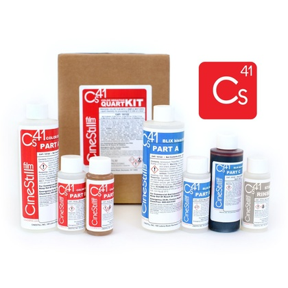 CINESTILL CS41 Color Simplified Quart Kit