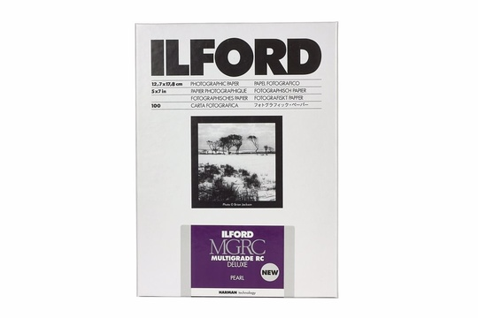 ILFORD MULTIGRADE RC DELUXE PEARL 12.7x17.8cm 25