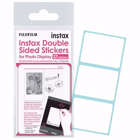 INSTAX DOUBLE SIDED STICKER 12