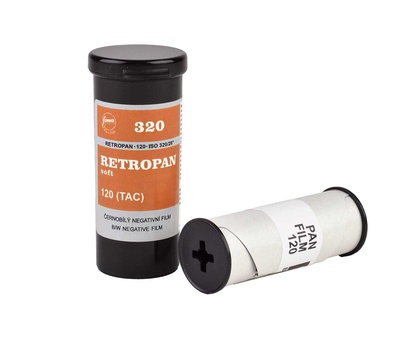 Foma Retropan 320 soft roll film 120