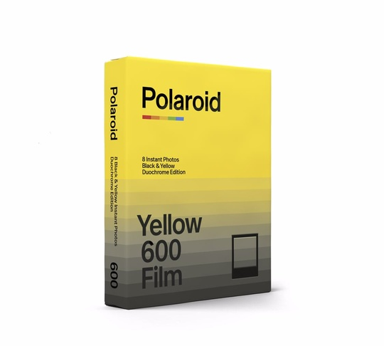 POLAROID DUOCHROME FILM FOR 600 BLACK & YELLOW - SLUTSÅLD!