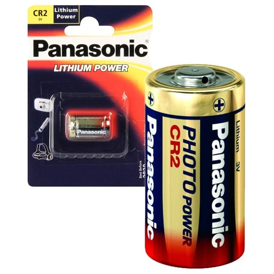 Panasonic Photo CR-2 Lithium