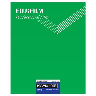 FUJI FUJIFILM PROVIA 100F 8x10 20 Sheet Film Large Format Made in Japan