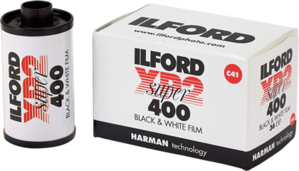 Ilford XP2 Super 135|36 C-41 PROCESS